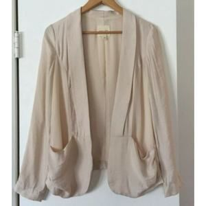 UO Silence + Noise Open Front Blazer Size Small